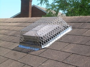 Static vent with Ventguard installed